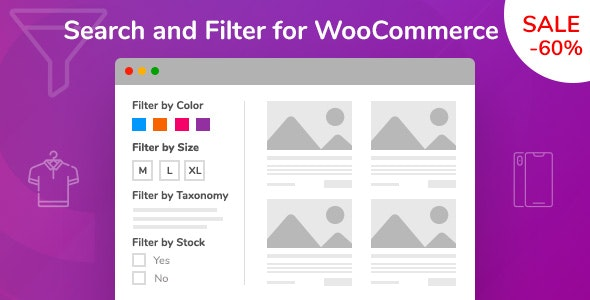 Wordpress E-Commerce Plugin Search and Filter for WooCommerce