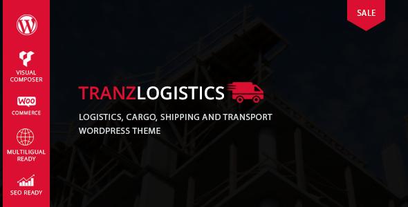 Wordpress Immobilien Template Tranzlogistics - Logistics & Cargo Shipping WordPress Theme