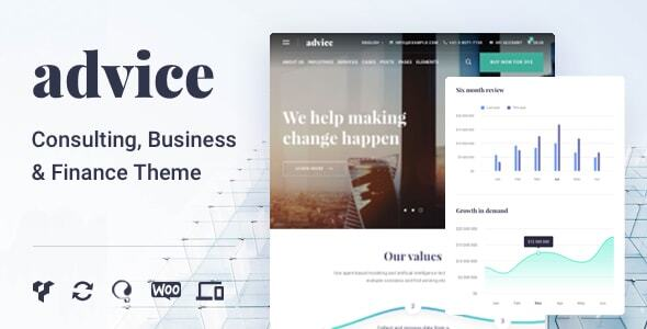 Wordpress Immobilien Template Business Consulting