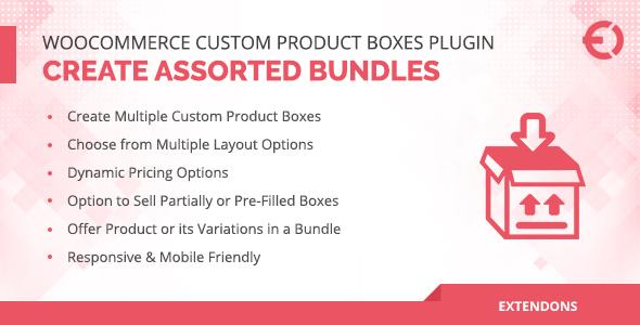 Wordpress E-Commerce Plugin WooCommerce Custom Product Boxes Plugin