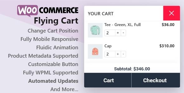 Wordpress E-Commerce Plugin WooCommerce Flying Cart