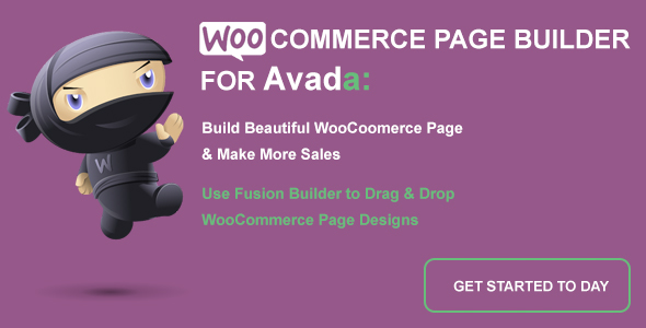 Wordpress E-Commerce Plugin WooCommerce Page Builder For Avada and Fusion Builder
