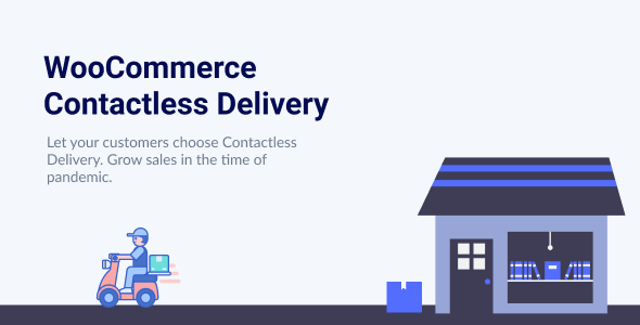 Wordpress E-Commerce Plugin WooCommerce Contactless Delivery