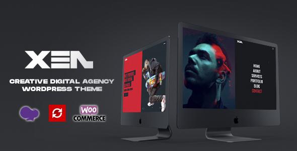 Wordpress Kreativ Template XEN - Creative Portfolio Agency WordPress Theme
