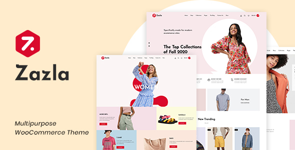 Wordpress Shop Template Zazla - Modern & Minimal WooCommerce Theme