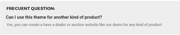 beste WordPress Theme Auktion Händler Autoverkäufe