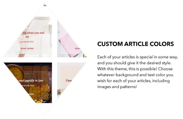 Benutzerdefinierte Artikelfarben