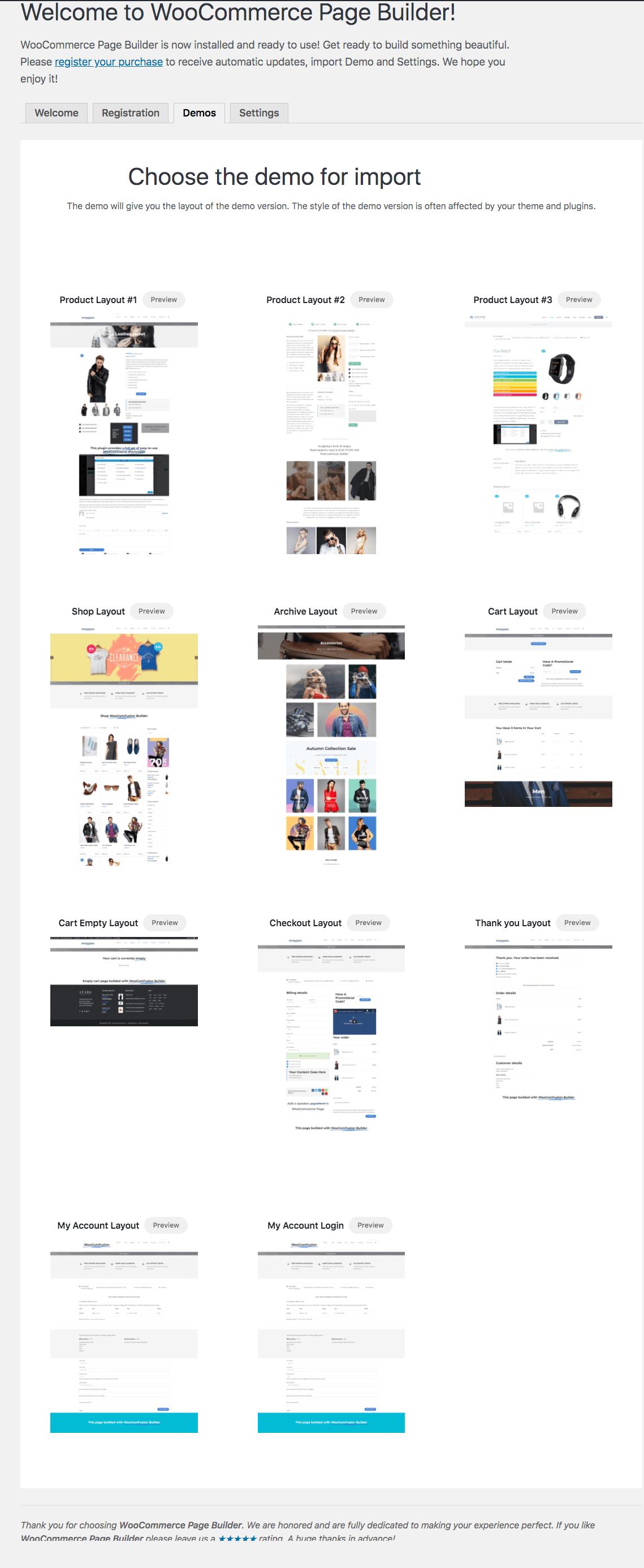 WooCommerce Page Builder für Avada - 3