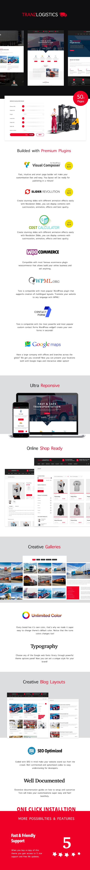 Tranzlogistics - Logistik & Frachtversand WordPress Theme - 1
