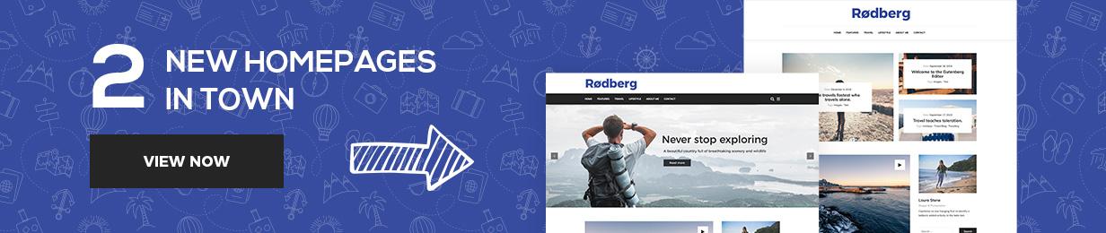 Rodberg - Reiseblog WordPress Theme - 1