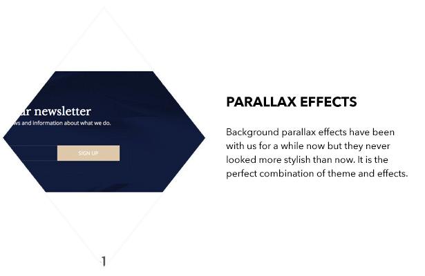 Parallaxeeffekte