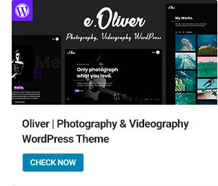 Oliver WordPress Theme
