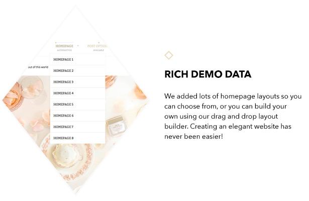 Umfangreiche Demo-Daten