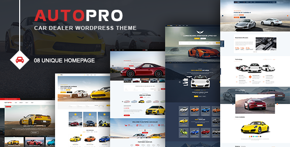 Wordpress Immobilien Template AutoPro - Car Dealer WordPress Theme