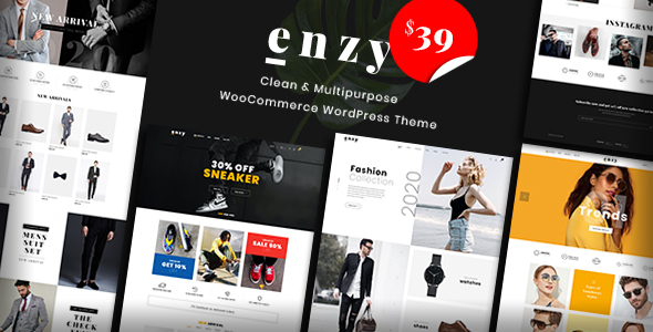 Wordpress Shop Template Enzy - Multipurpose WooCommerce WordPress Theme
