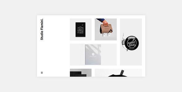 Wordpress Kreativ Template Flamini - Studio/Agency Portfolio WordPress Theme for Elementor