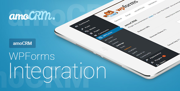 Wordpress Formular Plugin WPForms - amoCRM - Integration | WPForms - amoCRM - Интеграция