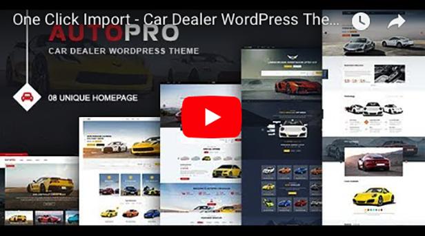 AutoPro - Autohändler WordPress Theme - 3