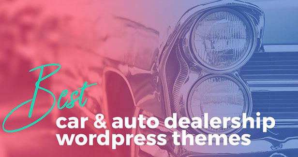 Beste Auto & Autohaus WordPress Themes