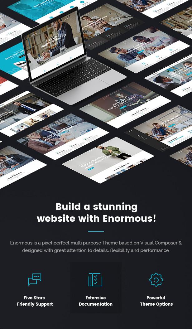 Enorme - Responsive Mehrzweck-WordPress-Theme - 4