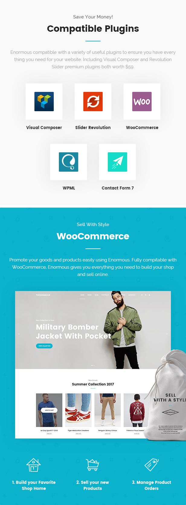 Enorme - Responsive Mehrzweck-WordPress-Theme - 7