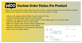 WooCommerce Bestellstatus pro Produkt