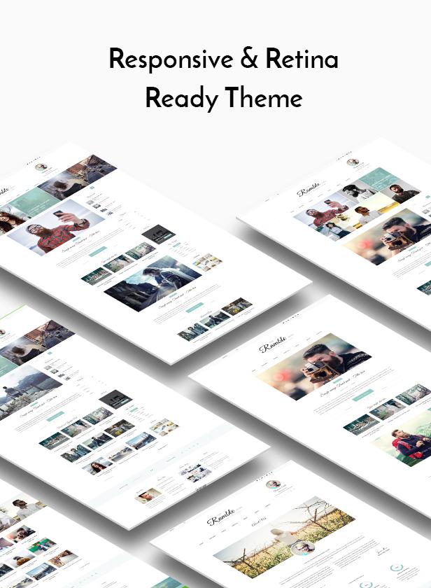 Ramble - Mehrzweck-WordPress-Theme für Blogs, Magazine und Woo-Commerce - 3