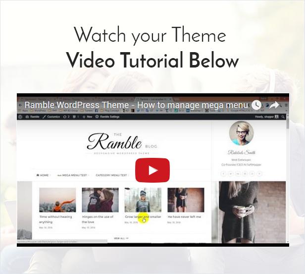 Ramble - Mehrzweck-WordPress-Theme für Blogs, Magazine und Woo-Commerce - 7