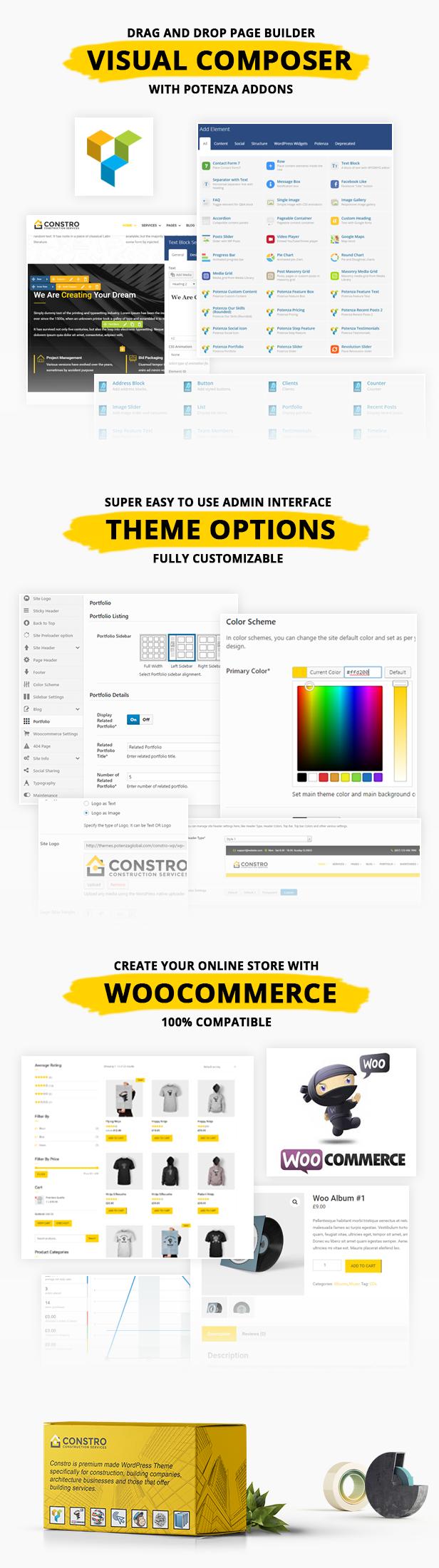 Constro - Baugeschäft WordPress Theme - 3