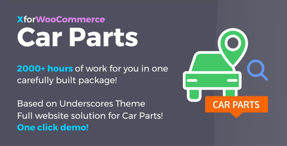 Wordpress E-Commerce Plugin Car Parts for WooCommerce and WordPress - Full website solution!