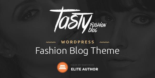 Wordpress Blog Template Tasty - Responsive Blog WordPress Theme