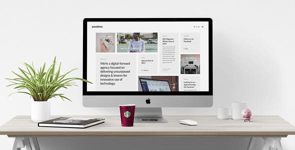 Wordpress Kreativ Template Pasadena - Contemporary Portfolio WordPress Theme for Creatives