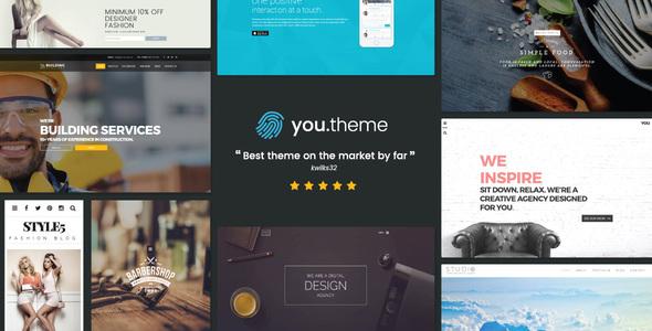 Wordpress Corporate Template You   Multi-Purpose Responsive WordPress Theme
