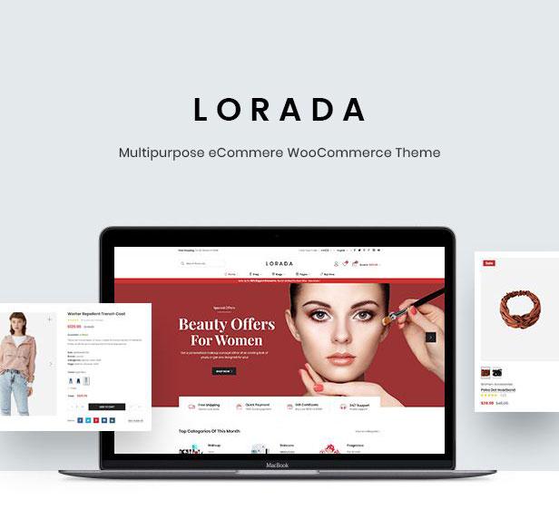 Lorada - Responsive Elementor E-Commerce-Thema - 5