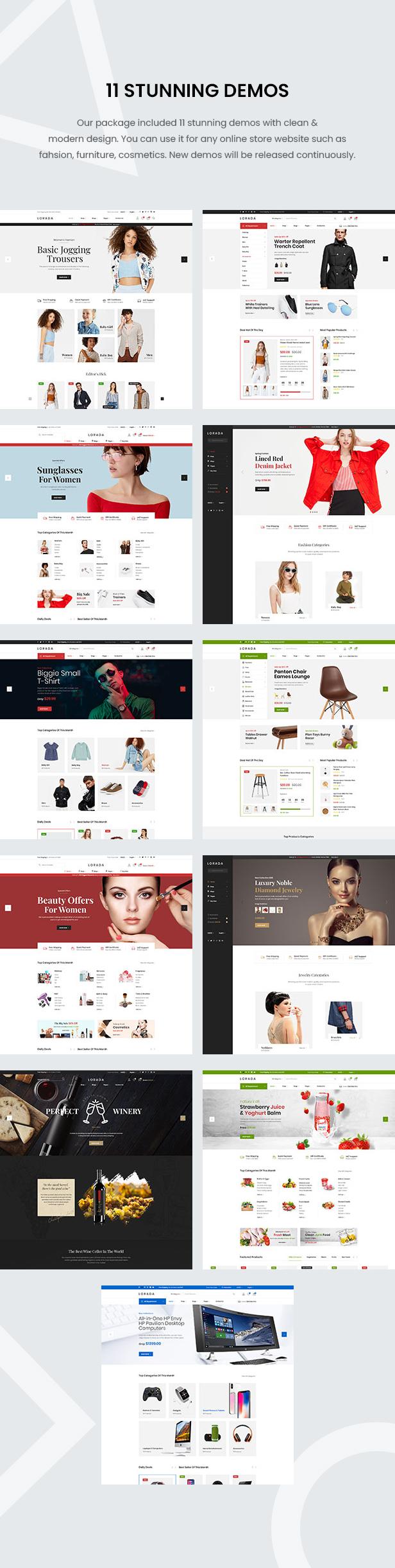 Lorada - Responsive Elementor E-Commerce-Thema - 7