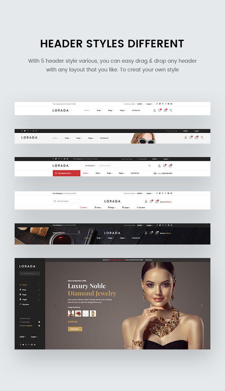 Lorada - Responsive Elementor E-Commerce-Thema - 8
