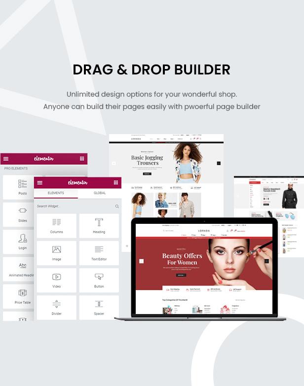 Lorada - Responsive Elementor E-Commerce-Thema - 9