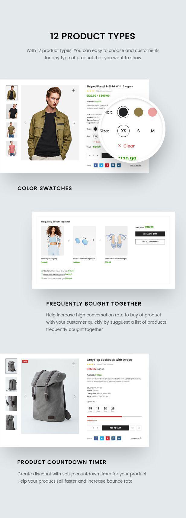Lorada - Responsive Elementor E-Commerce-Thema - 15