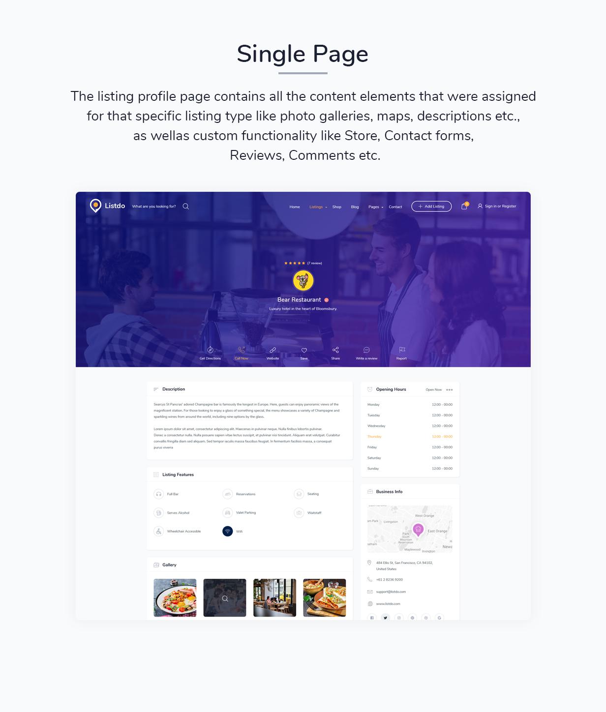 Listdo - Verzeichnisliste WordPress Theme - 7