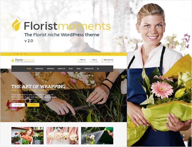 Florist - Florist & Landschaftsbau WP Theme - 1