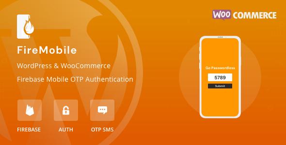 FireMobile - WordPress & WooCommerce Firebase Mobile OTP-Authentifizierung