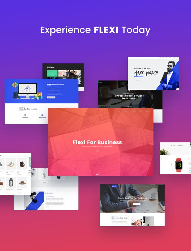 Flexible WordPress Theme | Flexi - 6