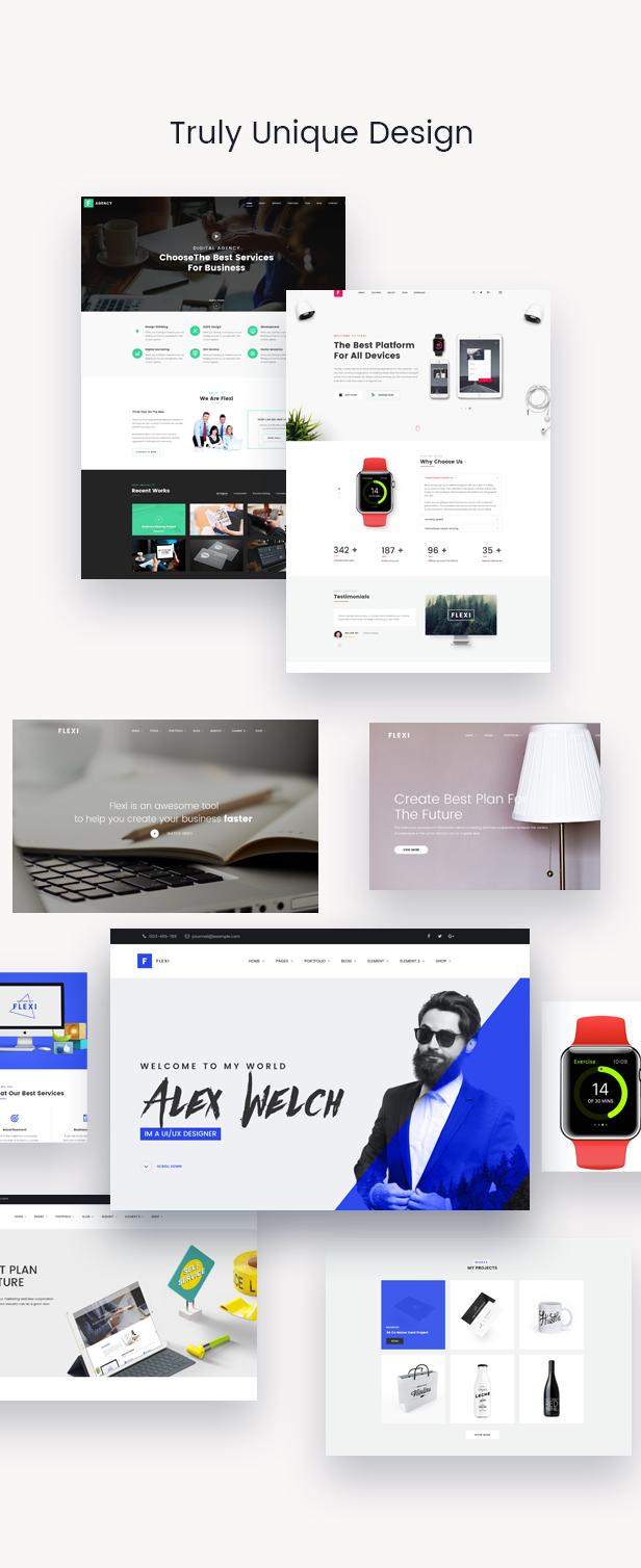 Flexible WordPress Theme | Flexi - 7