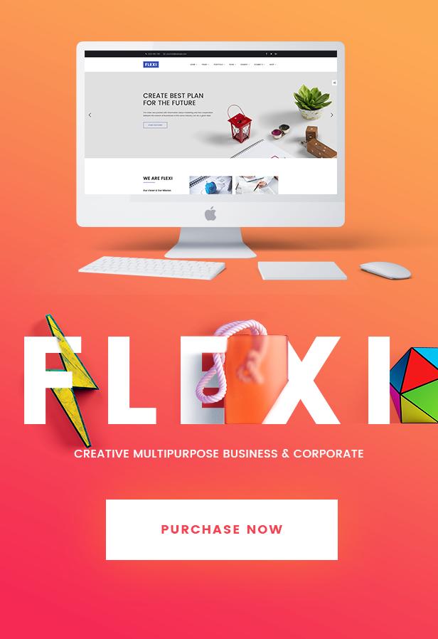 Flexible WordPress Theme | Flexi - 9