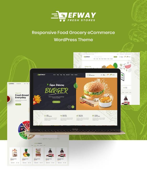 Efway Food WooCommerce WordPress Theme