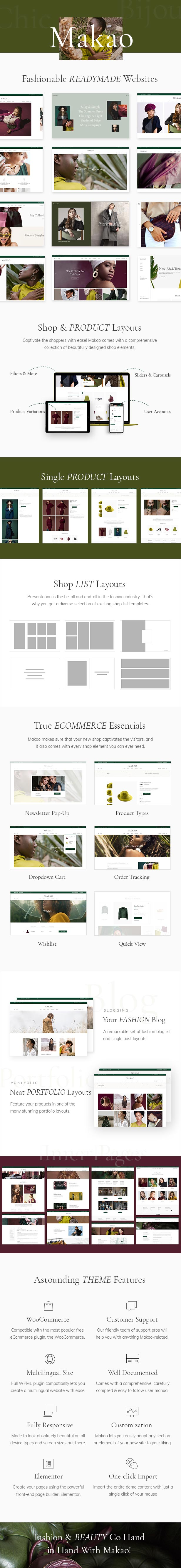 Makao - Fashion Shop WordPress Theme - 1