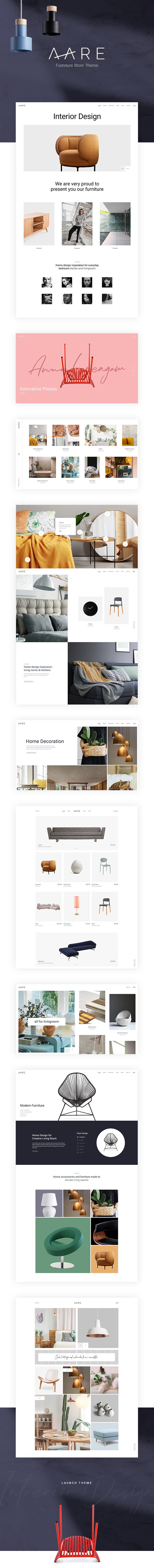 Aare - Möbelhaus WordPress Theme - 1