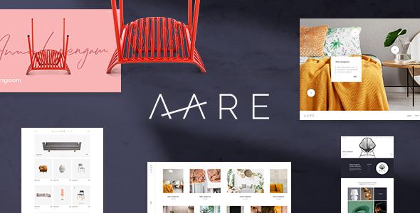 Wordpress Shop Template Aare - Furniture Store WordPress Theme