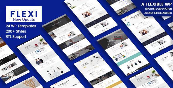 Wordpress Immobilien Template Flexible WordPress Theme | Flexi