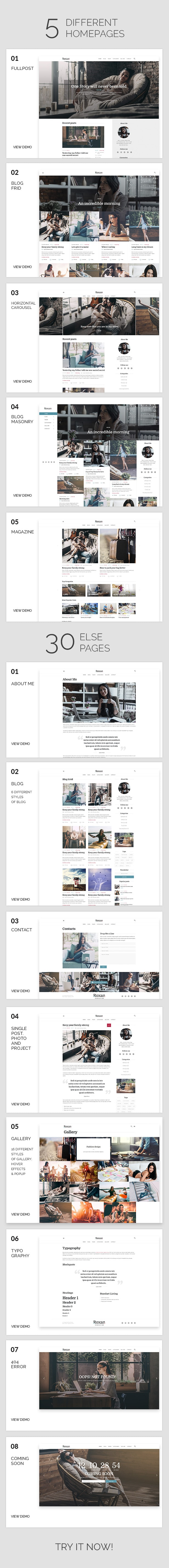 regina Blog WordPress Theme